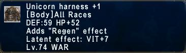 Unicorn Harness +1