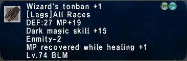 Wizard's Tonban +1