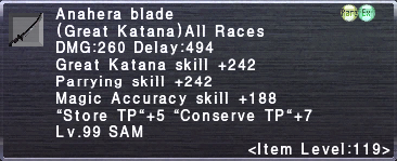 Anahera Blade