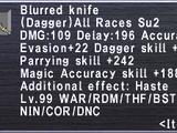 Blurred Knife
