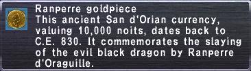 Ranperre Goldpiece