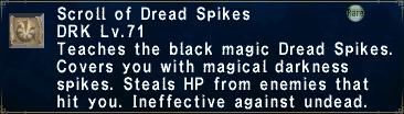 Dread Spikes
