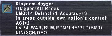 Kingdom Dagger