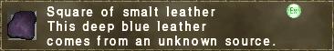 Smalt Leather