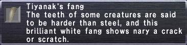 Tiyanak's Fang