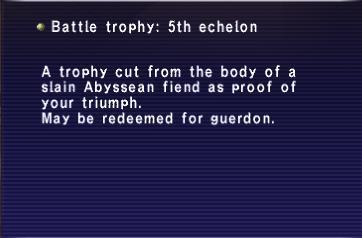 Battle Trophies