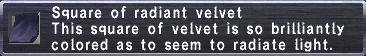 Radiant Velvet