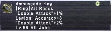Ambuscade Ring