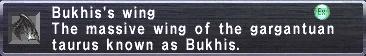 Bukhis's Wing