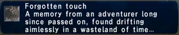 Forgotten Touch