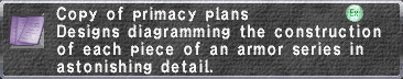 Primacy Plans