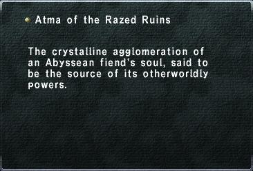 Atma of the Razed Ruins