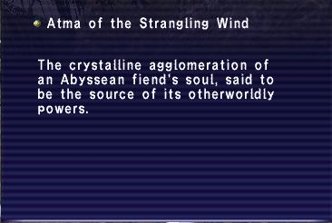 Atma of the Strangling Wind