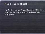 Galka Mask of Light