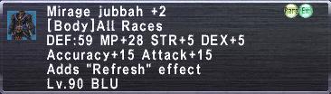 Mirage Jubbah +2