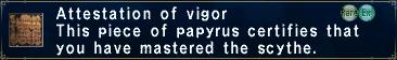 Attestation of Vigor