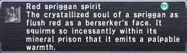 Red Spriggan Spirit