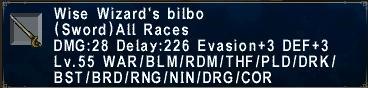 Wise Wizard's Bilbo