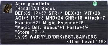 Acro Gauntlets