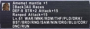 Amemet Mantle +1