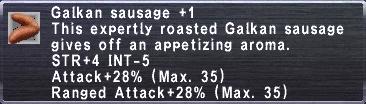 Galkan Sausage +1