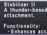 Stabilizer II
