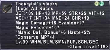 Theurgist's Slacks