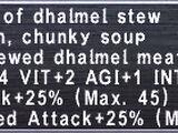 Dhalmel Stew