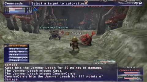FFXI_NM_Saga_119_Jammer_Leech_vs_BST_solo_Full_Battle