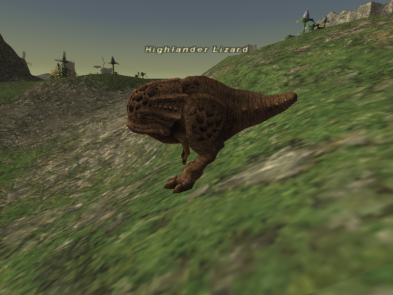 Highlander Lizard