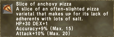 Anchovy Slice