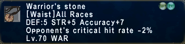 Warrior's Stone