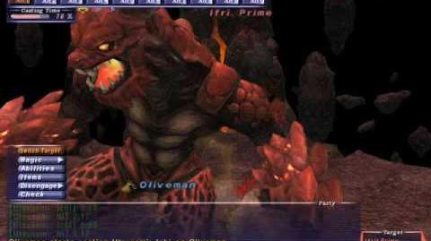 Oliveman_-_Ifrit_-_Naked_Avatar_Solo_-_FFXI