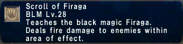 Scroll of Firaga