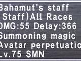 Bahamut's Staff