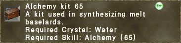 Alchemy Kit 65