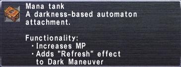 Mana Tank