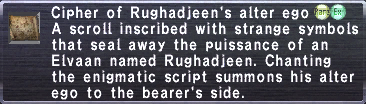 Cipher: Rughadjeen