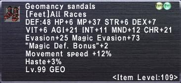 Geomancy Sandals