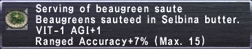 Beaugreen Saute