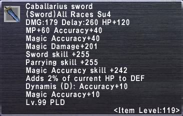 Caballarius Sword
