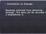 Information on Kalunga