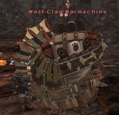 Wolf Clan Warmachine