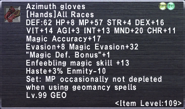 Azimuth Gloves