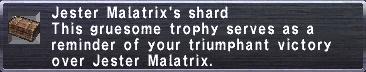Malatrix's Shard