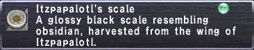 Itzpapalotl's Scale