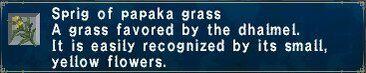 Papaka Grass