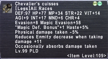 Chevalier's Cuisses