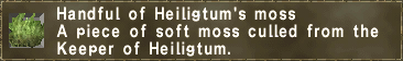 Heiligtum's Moss