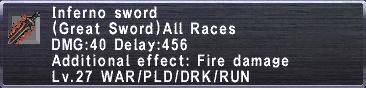 Inferno Sword